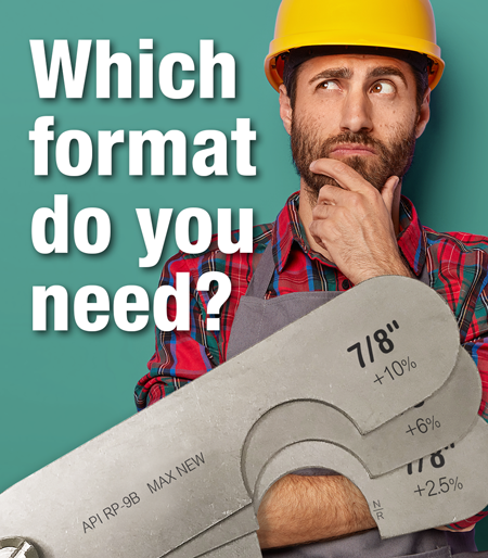 Find the Right Gauge Format